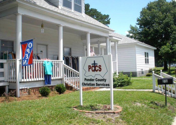 Pender County Christian Services Burgaw North Carolina